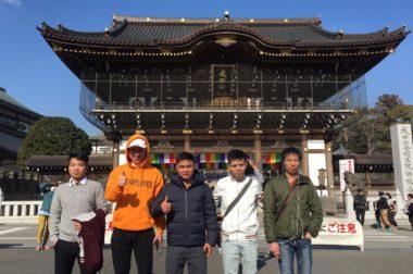 ~2月東京見学・書道教室・成田山新勝寺(豆まき)見学~