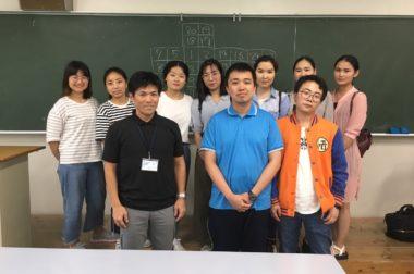 2019.6.10 ~琉球大学講義 キャリア形成入門見学~