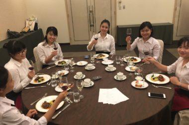 2017年7月13日(木) テーブルマナー講座 @沖縄かりゆし アーバンリゾート・ナハ