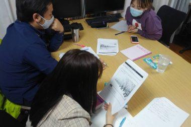宿泊業技能測定試験に向けて勉強会を開始いたしました