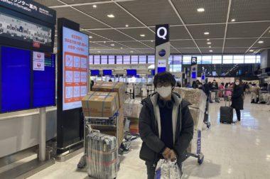 モンゴル人の学生さんが臨時便で帰国いたしました